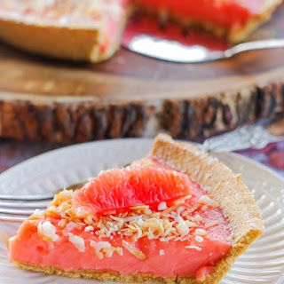 Ruby Red Grapefruit Tart