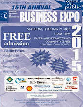 """Photo:  Networking in 2015 is essential for All Size Business. Find """"The Club at the 15th Annual Business Expo, Juanita Millender-McDonald community center, Carson California."""