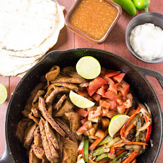Grilled Tri-Tip Steak Fajitas –
