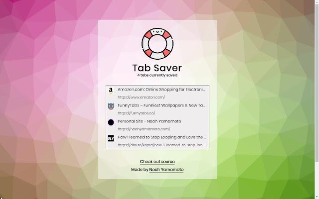 Tab Saver