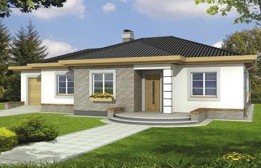 projekt Mila III wersja A bez garażu
