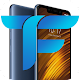 Xiaomi pocophone F1 launcher ,Poco f1 theme Download on Windows