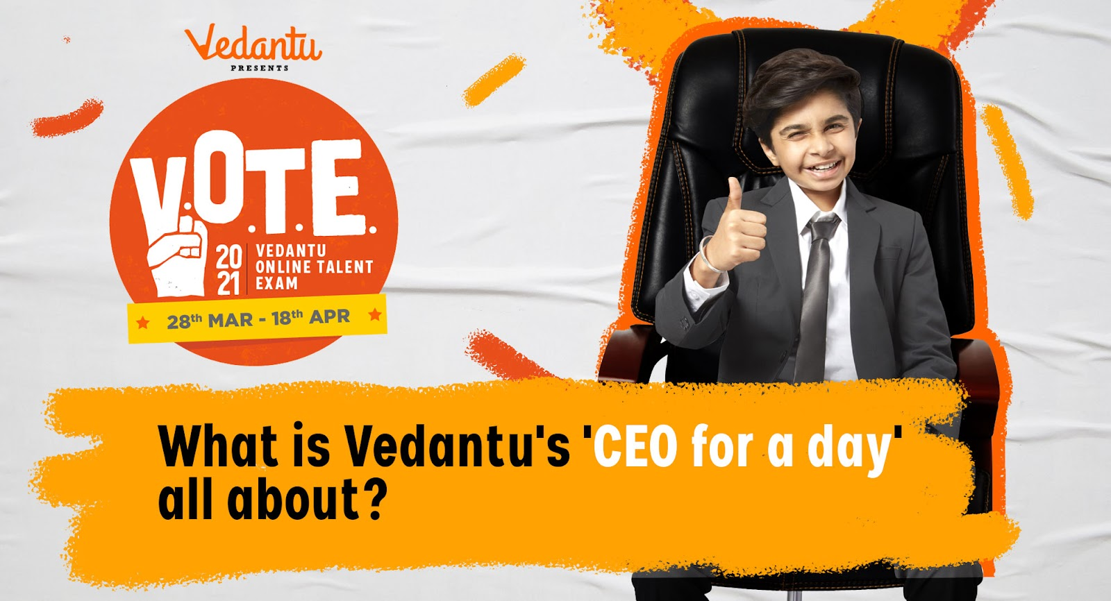 What is Vedantu's 'CEO for a Day' Programme all about?