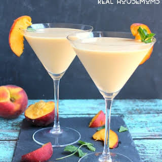 Peaches and Cream Martini.