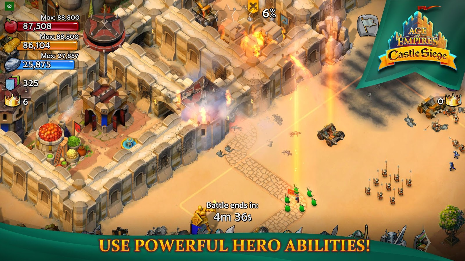 Age of Empires: Castle Siege- screenshot