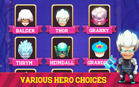 Granny Legend Mod APK (Unlimited All, Unlocked Hero's, VIP) for Android 6