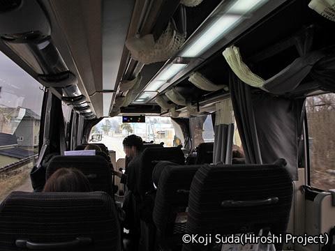 函館バス「高速はこだて号」 T3267 車内_04