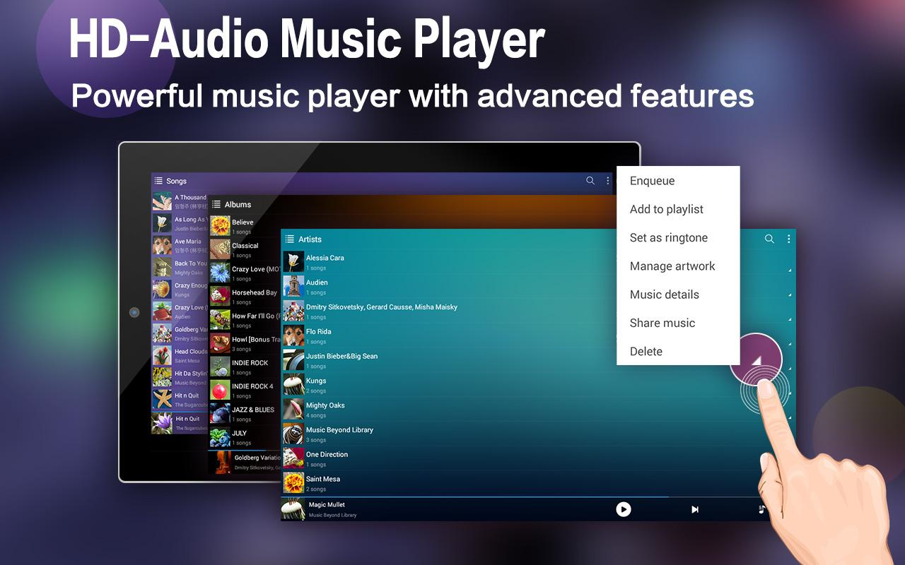 Music Player for Android-Audio- screenshot