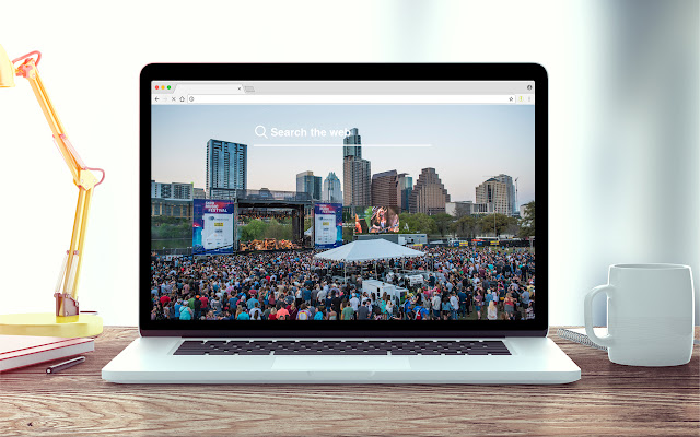 South by Southwest New Tab Theme