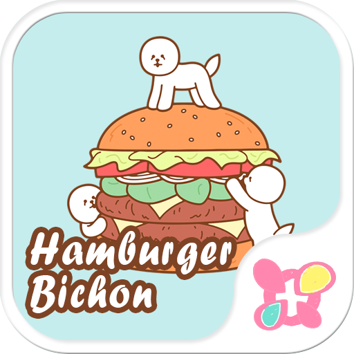 Funny Theme-Hamburger Bichon- Icon