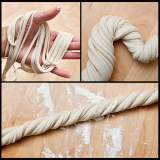 Hand Pulled Noodle Dough