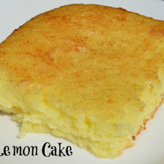 Easy Lemon Cake.