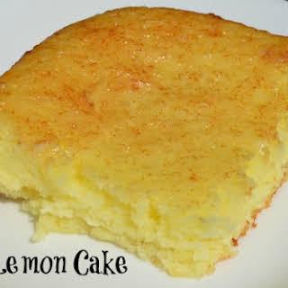 Easy Lemon Cake.