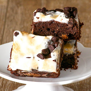 Marshmallow Peanut Butter Cup Brownies.