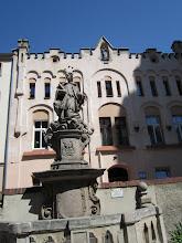 Photo: Jan Nepomucen przed kościołem - święty często spotykany w obszarze pohabsburskim ;-)