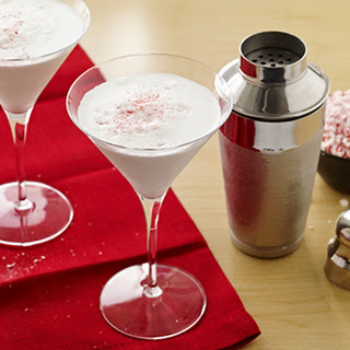 Candy Cane Cocktails.