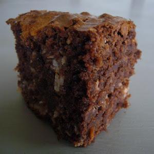 Marbled Cocnut Brownies