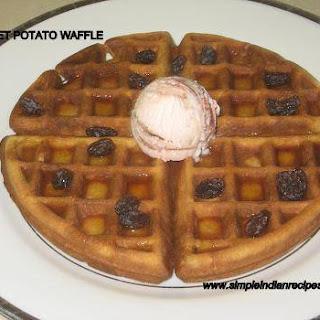 Sweet Potato Waffles & Pancakes