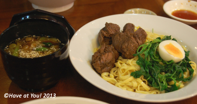 Beef Tsukemen Ramen