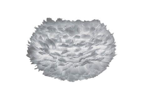 Eos medium light grey Ø 45 x 30 cm (Skadad förpackning)