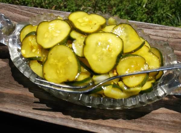 Bread & Butter Fridge Pickles (small Batch) Recipe