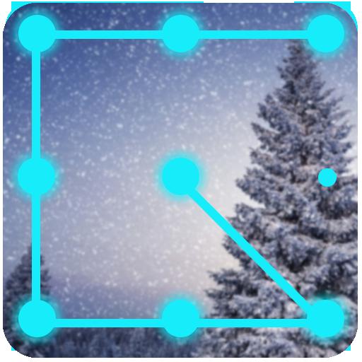 AppLock - Snowfall Theme
