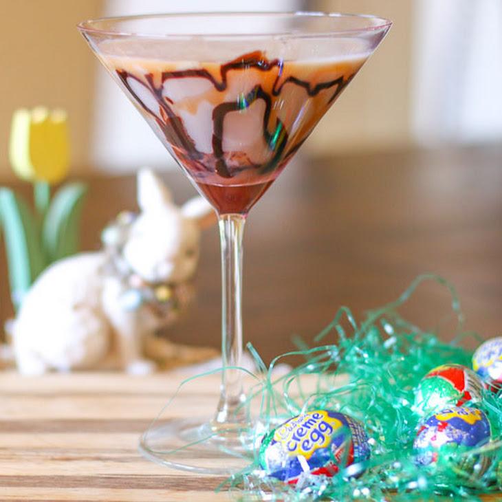 Easy Cadbury Creme Egg Martini