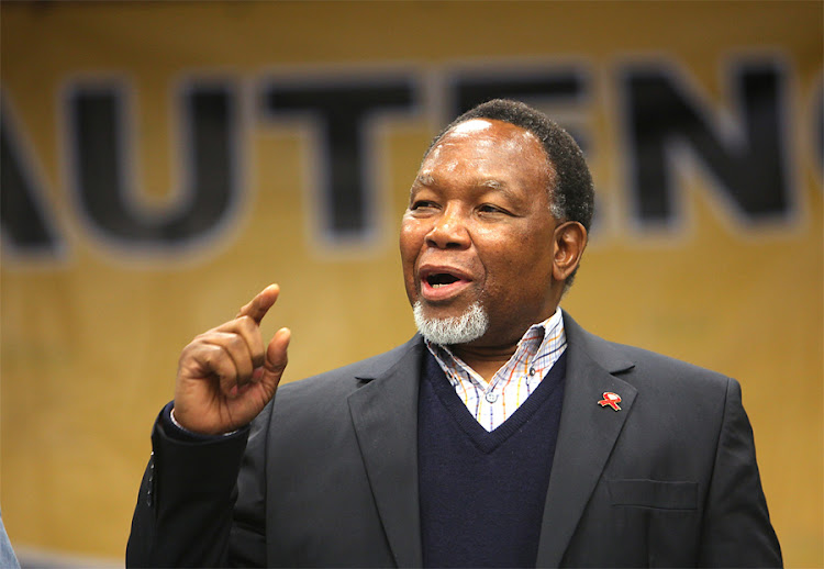 Deputy President Kgalema Motlanthe. Picture: THE TIMES