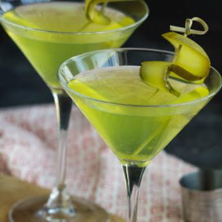 Dill Pickle Vodka Martini.