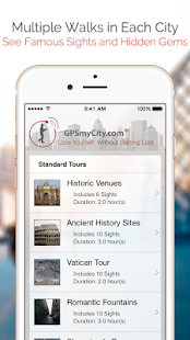 GPSmyCity: Walks and Articles - náhled