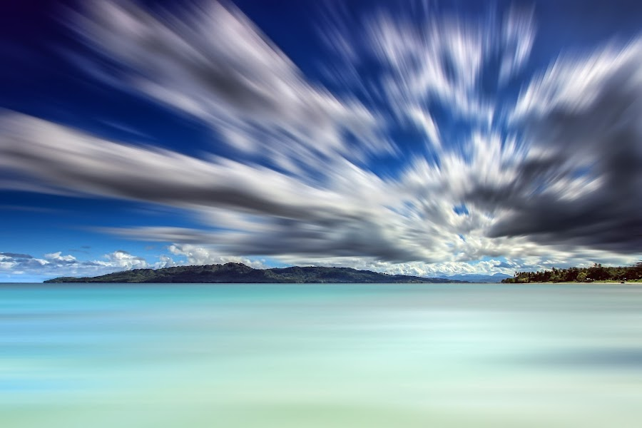 slow big stoper action motion by Rudy Ziyad Gunawan - Landscapes Waterscapes ( clouds, amazing, fantasy, nature, beautiful, long exposure, motion, landscape )