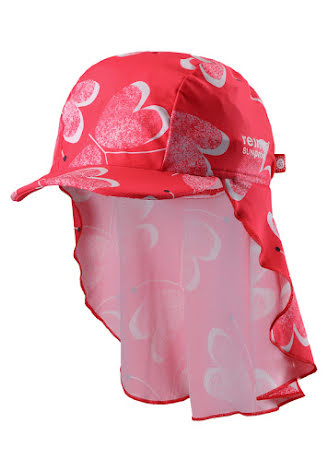 Reima Octopus 518458-3343 Bright Red uv-solhatt