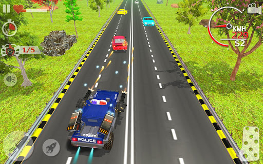 Police Highway Chase in City - Crime Racing Games 1.3.1 screenshots 7
