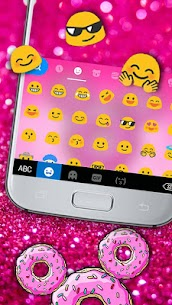 Sugar Donut Minny Keyboard Theme 1.0 APK Mod Latest Version 3