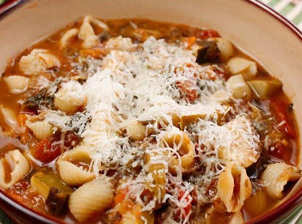Quick Minestrone Soup Recipe