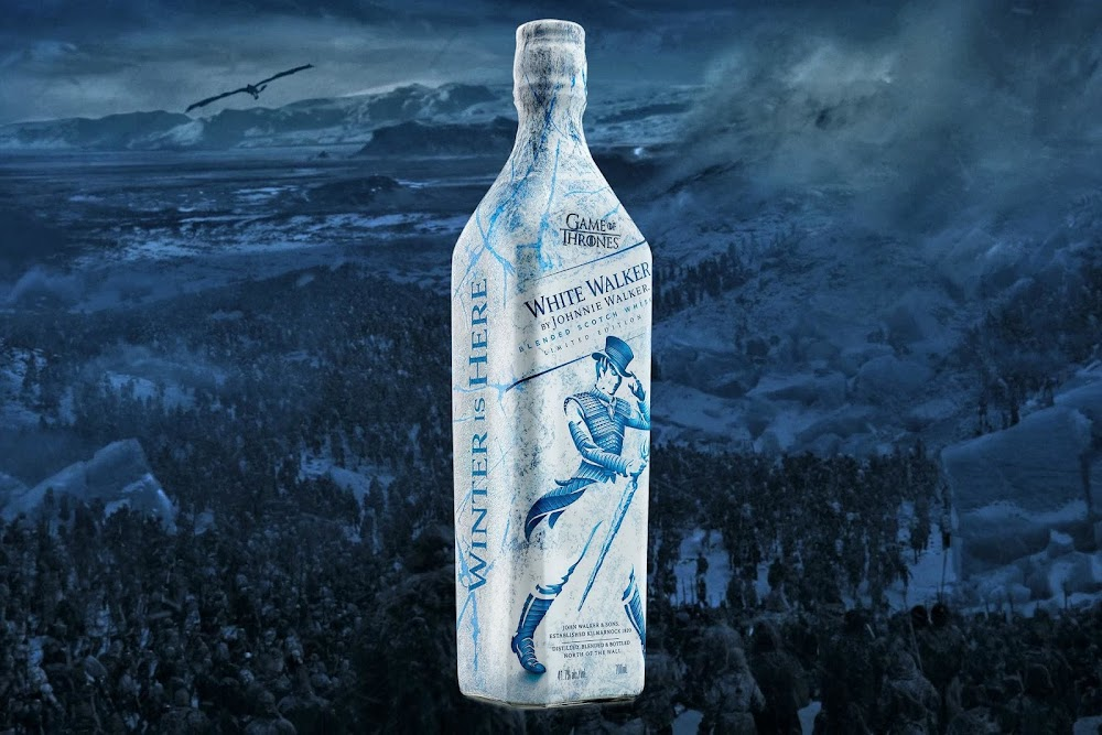 best-whisky-brands-india-White_Walker_by_Johnnie_Walker-Price-Rs.4450 for 750 ml.