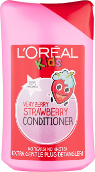 L'Oréal Kids Very Berry Strawberry Conditioner - 250ml