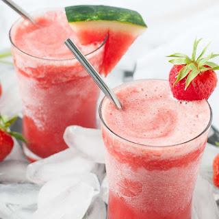 Strawberry Watermelon Sangria Slushie Recipe