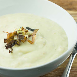 Crockpot Potato Leek Soup.