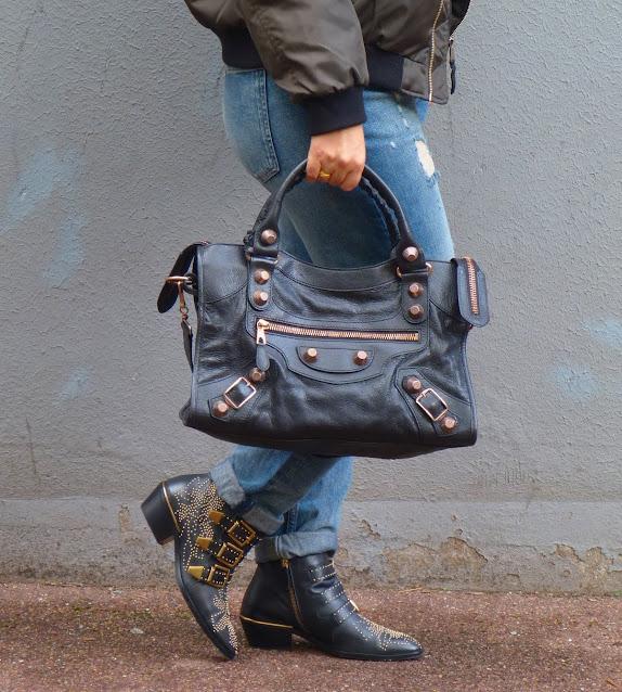 Chloé Susanna Boots, Balenciaga City Bag