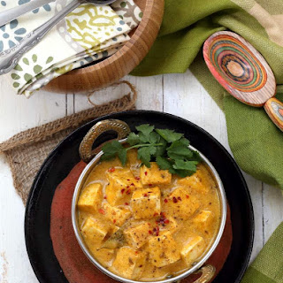 Mango Curry Tofu.