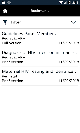AIDSinfo HIV/AIDS Guidelines ss2