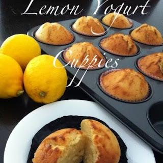 Lemon Yogurt Cupcakes.