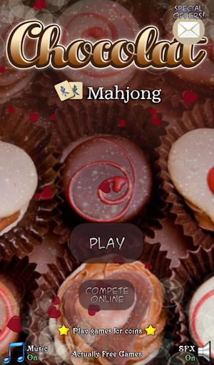 Hidden Mahjong: Chocolat