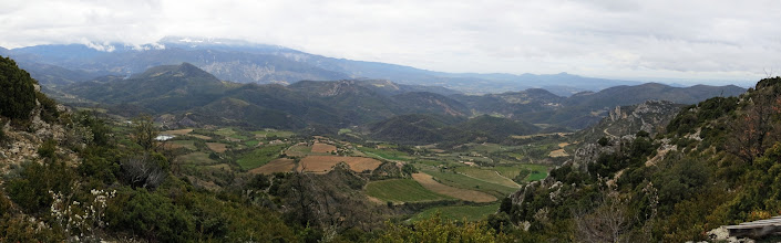 Photo: Panorama sur le Ventoux et les Baronnies