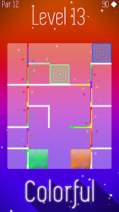 Color Glide: Relaxing Brain Puzzle Game- screenshot thumbnail