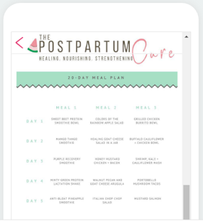 The Postpartum Cure Screenshot
