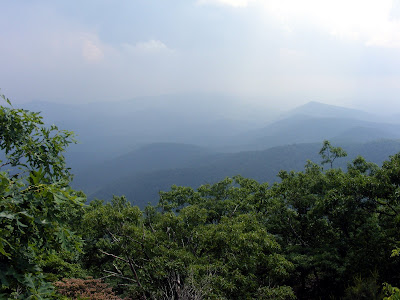 Blood Mountain Peak View