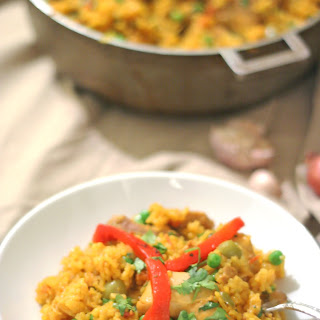 Cuban Arroz con Pollo {Chicken & Rice}