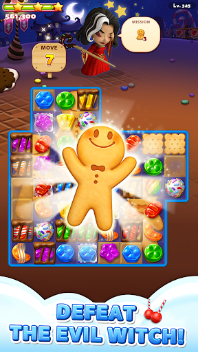 Sweet Road: Cookie Rescue Free Match 3 Puzzle Game 6.4.4 screenshots 1